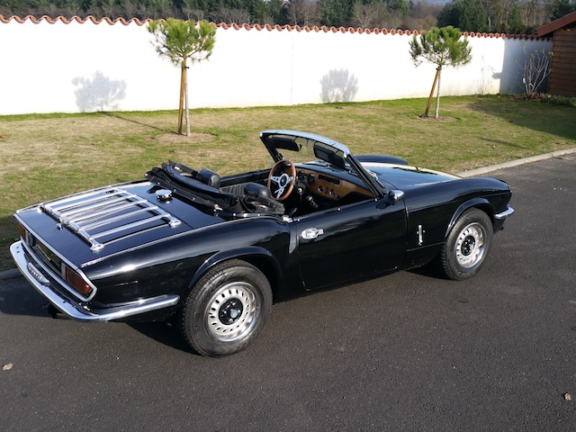 voiture de collection triumph spitfire 1500 fh. Black Bedroom Furniture Sets. Home Design Ideas